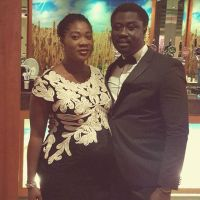 Mercy Johnson, Her Baby Bump & Husband Step Out For Event in Dublin | PHOTOS