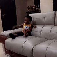 Olamide & His Handsome Son Batifeori Spend Quality Time Together (Photos)