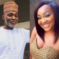Mercy Aigbe Has a Crush on Richard Mofe Damijo