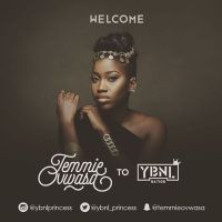 Olamide's YBNL Unveils First Female Act - Temmie Ovwasa