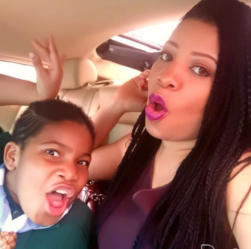 Monalisa Chinda and Daughter 2