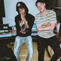 Wizkid Collaborates With US Rapper, French Montana; Watch Them Make Magic In The Studio (Video)