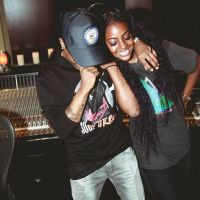 Wizkid Sends Lovely Birthday Wishes To His Girlfriend, Justine Skye (Photos)