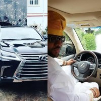 What Recession? E-Money Splashes N40million on 2017 Lexus LX 570