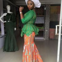 Ini Edo's Dazzles In Traditional Outfit As She Steps Out For Akwa Ibom At 29 Celebration (Photos)