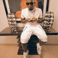 Olamide Rocks All White Oufit As He Shows Off His Blonde Hair In New Photos