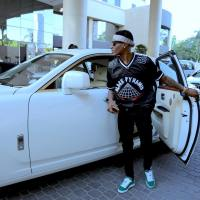Wizkid Looks Modish & Shines Different As He Rocks 'Black Pyramid' Hockey Jersey (Photos)