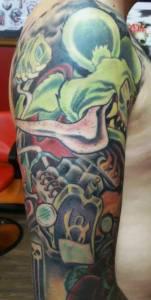 Rat Fink Sleeve | Joe | 39th Street Tattoo Kansas City