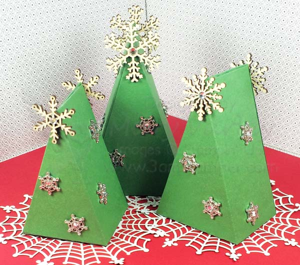 Froest of Christmas Trees - Visit http://www.3amstamper.com