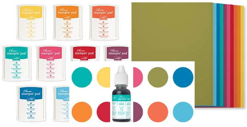 Brights Ink & Card Stock