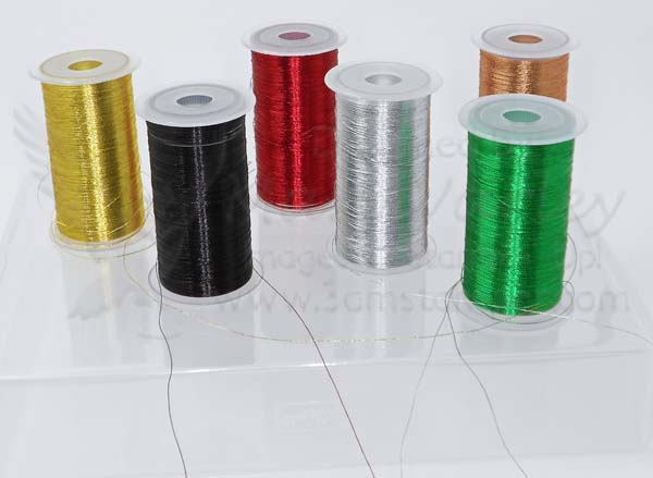 Metallic Thread Collection - Visit http://www.3amstamper.com