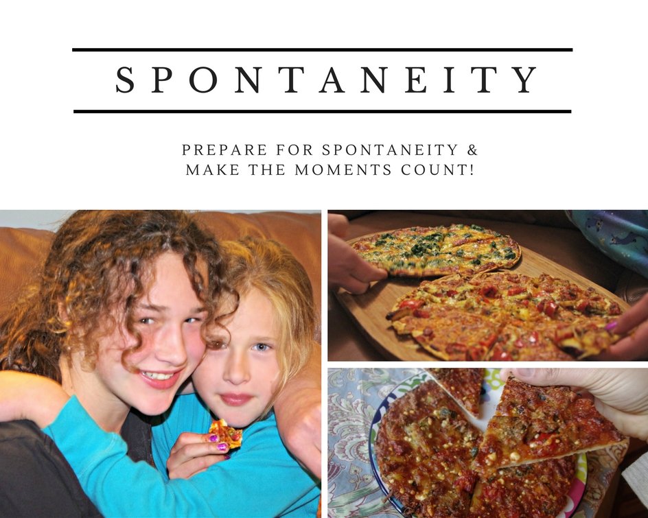 Planning for Spontaneity #DrOPizzaParty