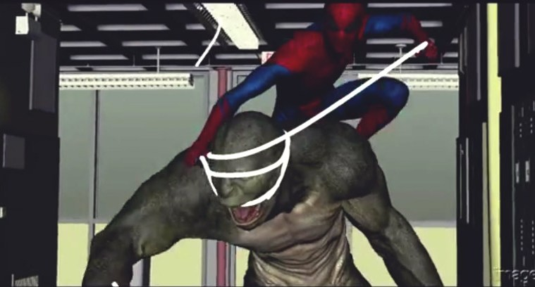 Motion design with c4d and after effects breakdown 3dart - Vfx The Amazing Spiderman 3dart