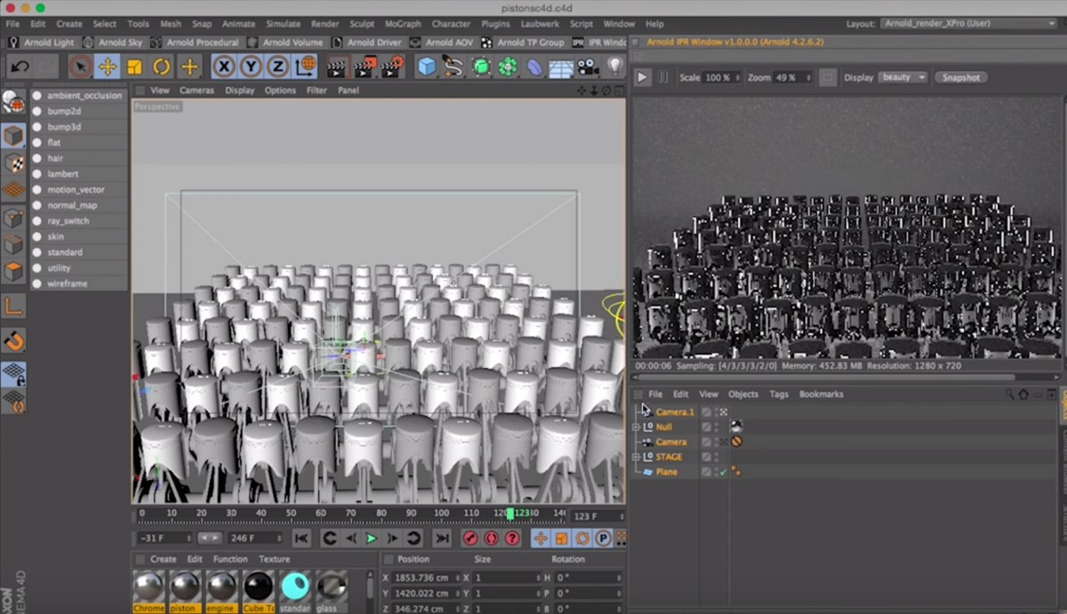 Cinema 4D - Arnold Render Shader Material Pack