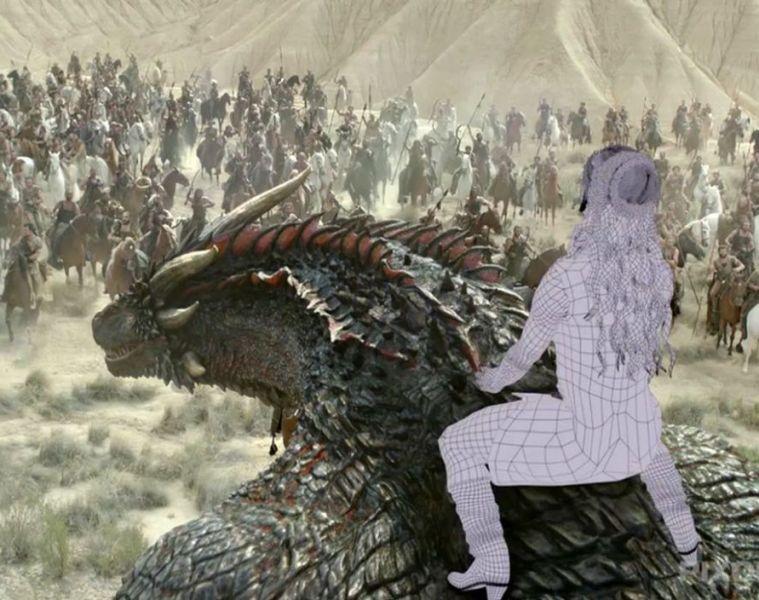 VFX Making of Game of Thrones Season 6