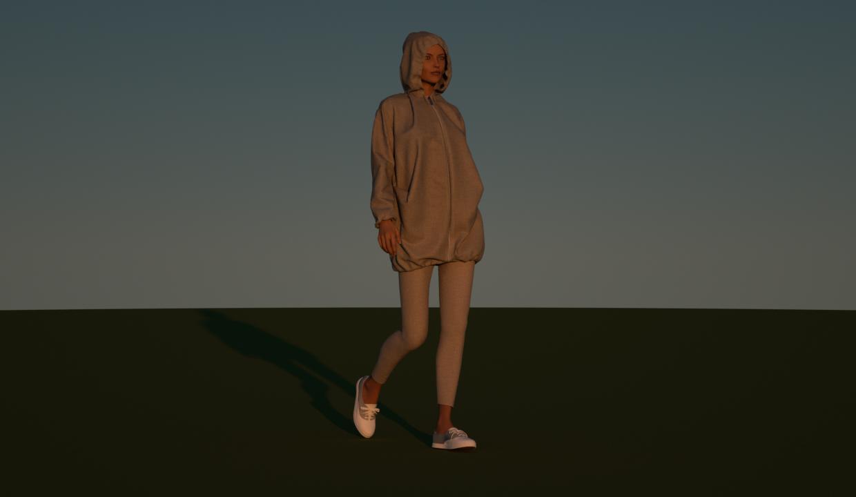 www.3dfashiondesigner.fr-Virtual Fashion-Linen Parka