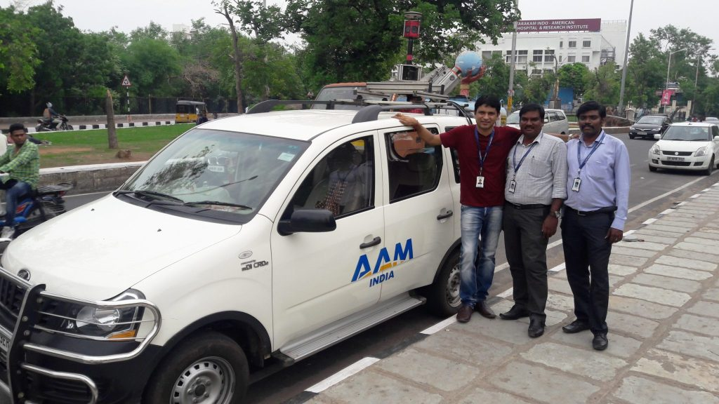AAM India Survey Team