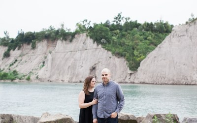 Claire +  Mitch – Scarborough Bluffs Engagement Shoot