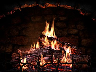 Fireplace 3D Screensavers - Fireplace - Real fireplace at your desktop.
