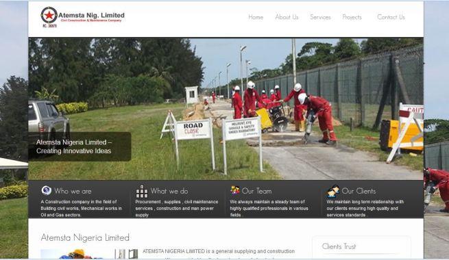 professional website designers in Bonny Island Rivers State Nigeria