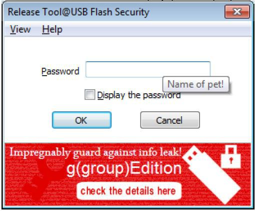 add password to usb stick, sd card and flash drives
