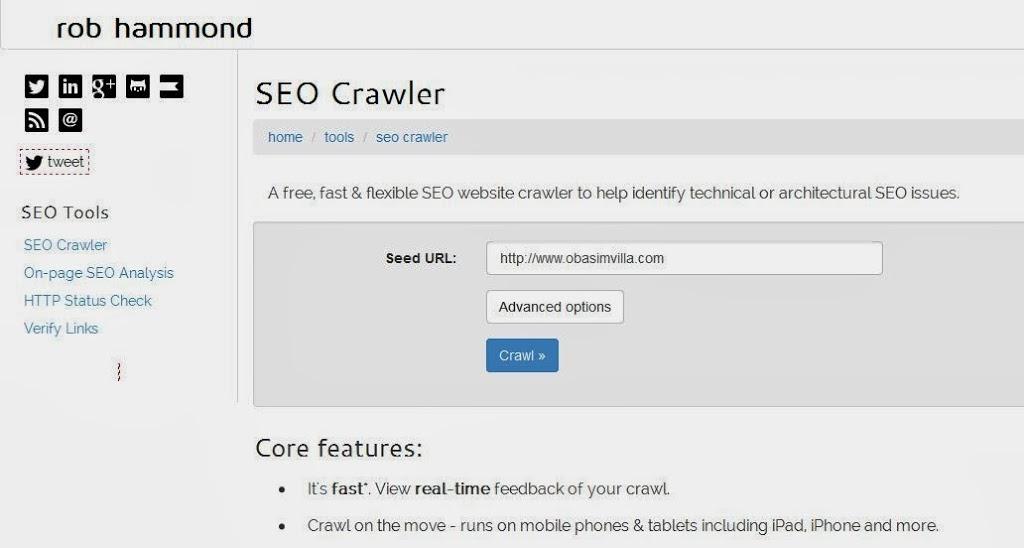 Rob SEO Crawler