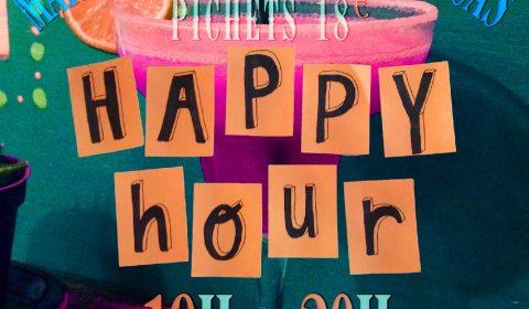 flyer happy hour