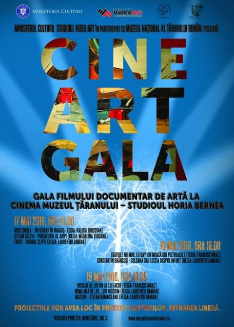 gala filmului documentar de artă