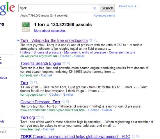 Google Censors Torrent-Related Search Terms -- unless you press enter | 40Tech