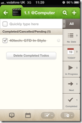 Awesome Note GTD with Evernote Sync | 40Tech