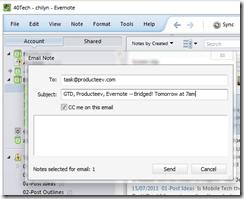 GTD in Producteev Evernote Bridge   40Tech