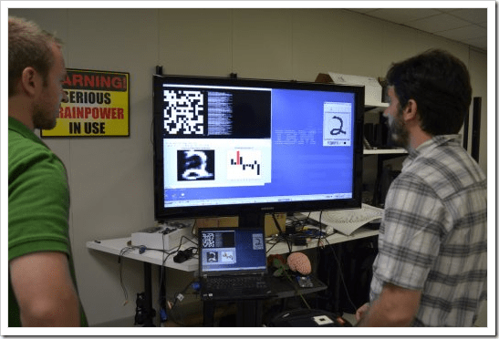Cognitive Computer Chip Demonstrates Handwriting Recognition