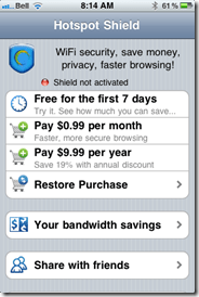 Hotspot Shield VPN App for iOS | 40Tech