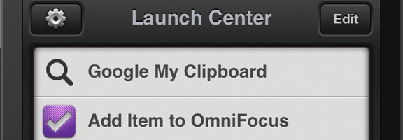 Launch Center