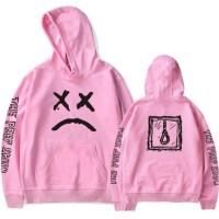 Lil Peep Pink Crybaby Hoodie