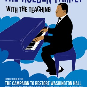 Saturday Concert to support the renovation of Washington Hall