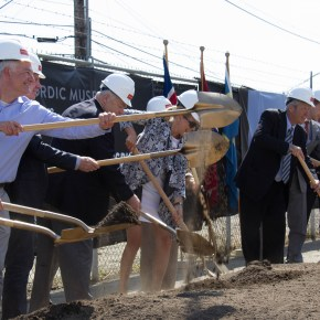 Building for Culture Funds at Work: the Nordic Heritage Museum Breaks Ground