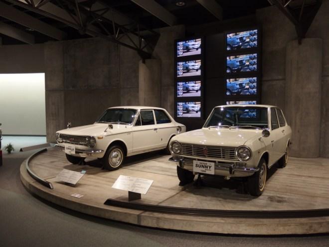 ダットサン サニー B10型&トヨタ カローラ KE10型