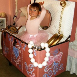 A ballerina in a Jewelry Box