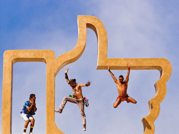 Installation at Burning Man 2014