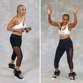 She was born in 1936 but she didn't start bodybuilding until she was 56 years old