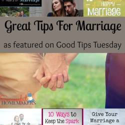 Great Tips For Marriage via #GTTuesday