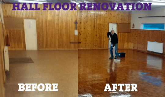 4th sevenoaks scout group archive before and after for Renovation projects before and after