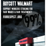 Support the Walmart Strike. Boycott Walmart on Black Friday
