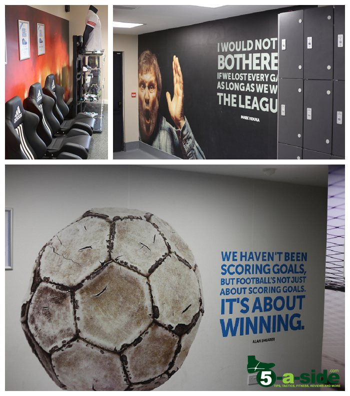 Powerleague Sunbury Changing Rooms and Quotes
