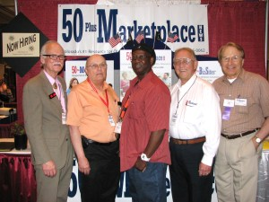 50 Plus Sales Staff at Salute to Seniors Expo 2013