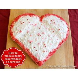 Wondrous How To Make A Heart Shaped Cake Without A Heart Cake Pan How To Make A Heart Illustrator How To Make A Heart Friendship Bracelet