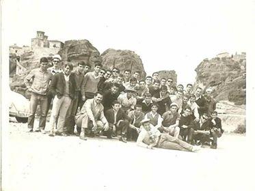 1966Ταξη Β' Λυκειου στα Μετέωρα το 1966