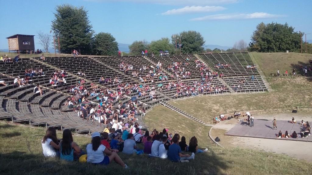 Επίσκεψη στο αρχαίο θέατρο του  Δίου