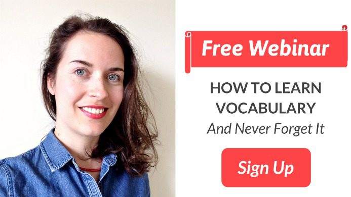 How to learn vocabulary effectively webinar